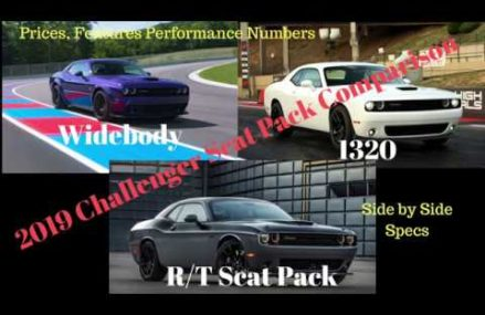 2019 Dodge Challenger Scat Pack Specs and Performance Comparison Local Area 74002 Barnsdall OK