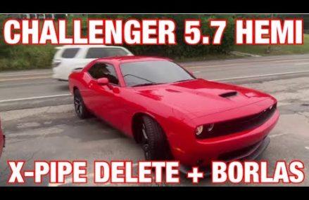 2020 Dodge Challenger RT 5.7L HEMI TRUE DUAL EXHAUST w X PIPE DELETE & BORLA ATAKS! Near Martindale 17549 PA