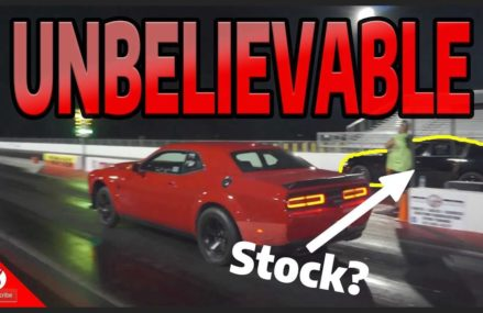 Charger Hellcat BEATS a Dodge Demon! UNBELIEVABLE at 96208 APO AP