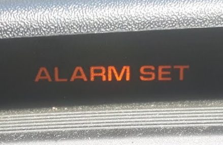 Chrysler Grand Voyager ALARM SET problem     FIXED !! Local Montgomeryville 18936 PA