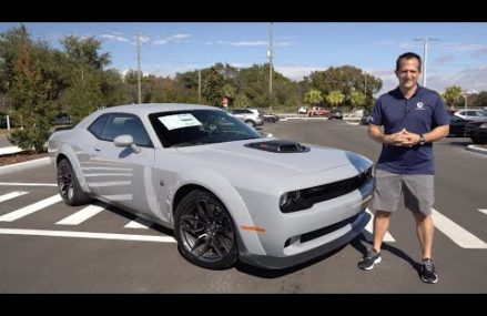 Is the NEW 2021 Challenger Scat Pack Widebody Shaker the muscle car to buy? at Lucas 67648 KS
