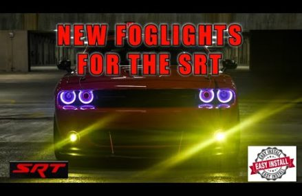 Yellow foglights for the SRT Challenger For Maud 75567 TX
