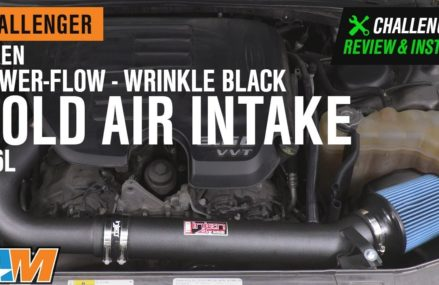 2011-2019 Challenger 3.6L Injen Power-Flow Wrinkle Black Cold Air Intake Review & Install Near Loco Hills 88255 NM