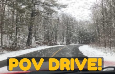 Dodge Charger (V6) POV Drive on Snowy & Empty Roads – Loud Exhaust & Accelerations! Within Zip 64720 Adrian MO