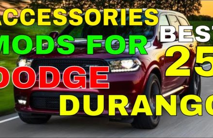 Accessories MODS For Dodge Durango 25 Best You Can Install For Interior Exterior Trims And Many More Milwaukee Wisconsin 2018