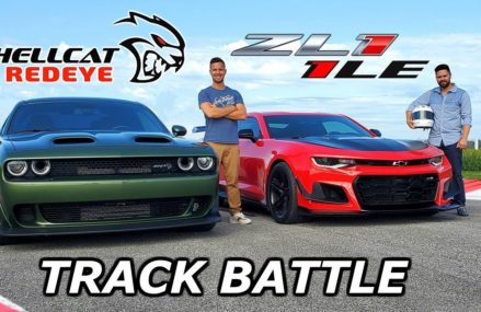2019 Dodge Hellcat Redeye vs Chevy Camaro ZL1 1LE – DRAG RACE & LAP TIMES Near Mahwah 7498 NJ