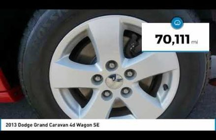 2013 Dodge Grand Caravan Temple Hills MD T10503 at Morley 63767 MO