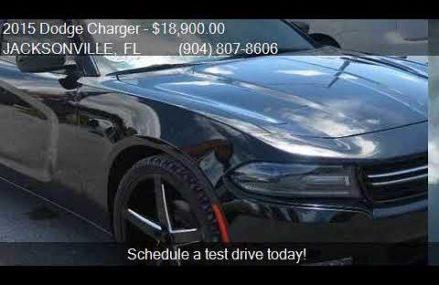 2015 Dodge Charger SE 4dr Sedan for sale in JACKSONVILLE, FL at 83602 Banks ID