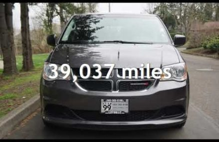 2016 Dodge Grand Caravan SXT Premium Plus **39k Miles** 1-Owner for sale in Milwaukie, OR in Mendon 64660 MO