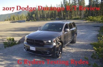 2017 Dodge Durango R/T Review Sioux Falls South Dakota 2018