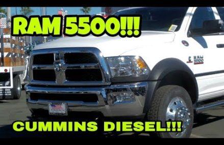 Big Bad RAM 5500 work truck!  REAL WORKING TRUCKS! From 66097 Winchester KS