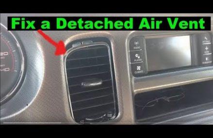 Detached Air Vent Fix. 2013 Dodge Charger at 99511 Anchorage AK