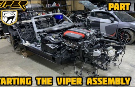 Dodge Viper Engine at Speedway 95, Hermon, Maine 2021