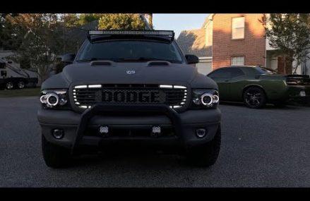 Reimagined, redesigned, restored 2003 Dodge Durango Sacramento California 2018