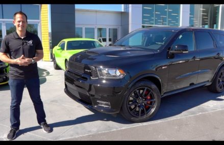 Is the 2020 Dodge Durango SRT the BEST 3-row Muscle Car SUV? Sacramento California 2018