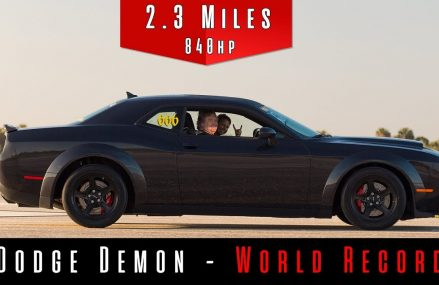 2018 Dodge Demon 203MPH (World Record) Within Zip 19503 Bally PA