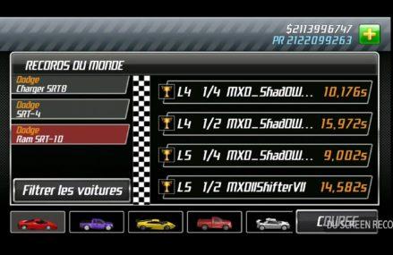 Drag Racing Dodge Ram Srt 10 at 57584 Witten SD