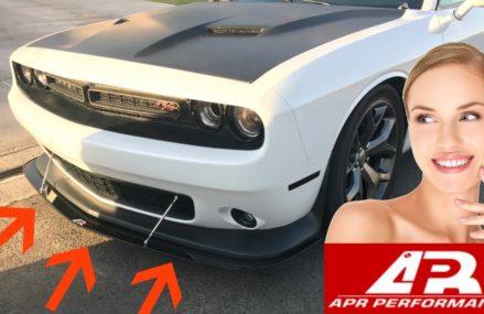 How to Install APR Performance Splitter! (Dodge Challenger #CW-723156) ✔️ Near Lufkin 75903 TX