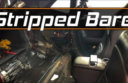 Disassembly of 2015+ Challenger rear interior and install of SeatbeltPlanet custom Seat Belts Now at 81621 Basalt CO