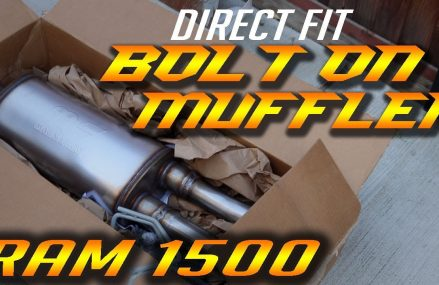RAM 1500 Muffler for Factory Dual Exhaust – INSTALLATION –  B2 Fabrications From 62478 West York IL