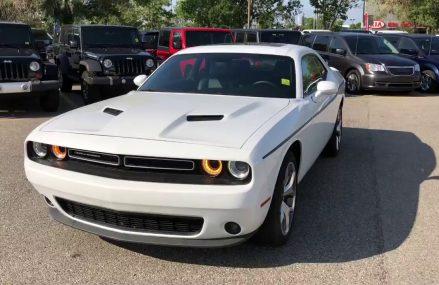 2016 Dodge Challenger SXT Plus | Bright White | Courtesy Chrysler For Lowry 24570 VA