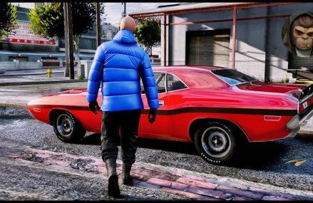 ► GTA 6 Graphics – 1970 Dodge Challenger R/T Hemi ✪ M.V.G.A. Realistic Graphics MOD PC 60FPS at Lipan 76462 TX