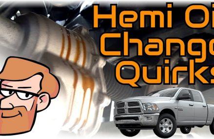 Ram 1500 5.7L Hemi Oil Change Quirks (2013-2017) • Cars Simplified Quick Tips Local 71082 Vivian LA