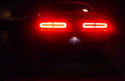 2018 Dodge Challenger Tazer light show From Lockwood 93932 CA