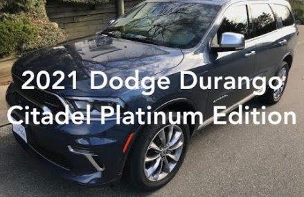 2021 Dodge Durango Citadel Platinum Edition Reno Nevada 2018