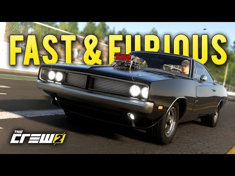 Dom's Dodge Charger Build from the Fast and Furious! - The Crew 2 Closed Beta Gameplay 2019