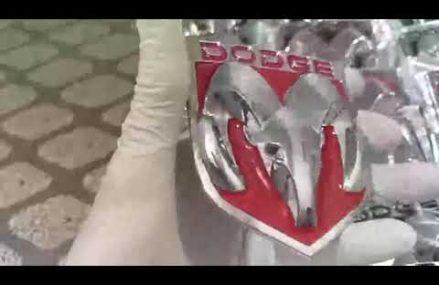 Emblema Dodge Metal Cromado Local 7093 West New York NJ