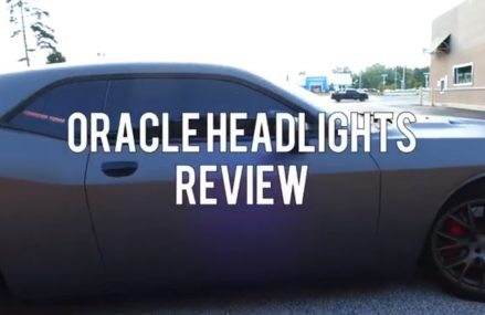 Oracle Halo headlights Dodge Challenger SRT Review at Marquand 63655 MO