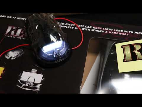 RECON 264146WHBKHP Dodge Ram 03-16  Smoked Cab Light LED #Recon  #Automotive @Purchase_Direct Dodge Ram Cab Lights