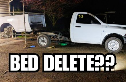 How To Remove A Truck Bed BY YOURSELF, NO LIFTS OR MACHINERY NEEDED! From 23889 Warfield VA