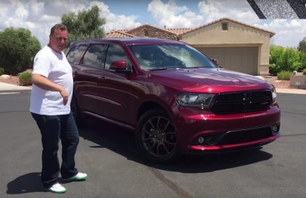 Dodge Durango video blog: would this giant US SUV work in the UK? Jersey  New Jersey 2018