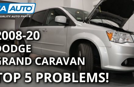 Top 5 Problems Dodge Grand Caravan Minivan 5th Generation 2008-20 Near Modesto 95350 CA