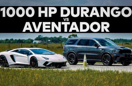 Lamborghini Aventador vs 1000 HP Dodge Durango // DRAG RACE! Killeen Texas 2018