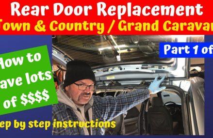 Rear Door Replacement Grand Caravan Town & Country 2001 – 2007 Part 1 of 2 in Mount Hope 44660 OH