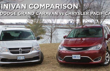 Minivan Comparison | Dodge Grand Caravan vs Chrysler Pacifica | Driving.ca Local New Port Richey 34655 FL