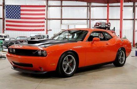 2009 Dodge Challenger R:T Orange Local Luray 67649 KS