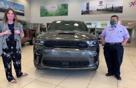 2021 Dodge Durango SRT, FOR SALE at Oxmoor Chrysler Spokane Washington 2018