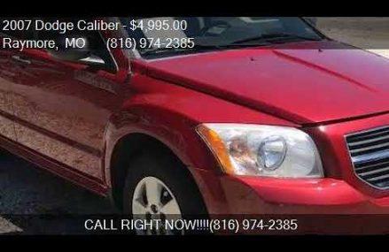 Dodge Caliber Manual Transmission at Corpus Christi 78467 TX USA