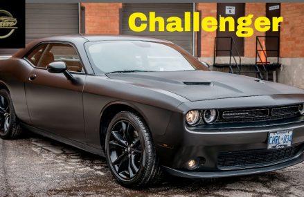Satin Black Dodge Challanger at Madison 57042 SD