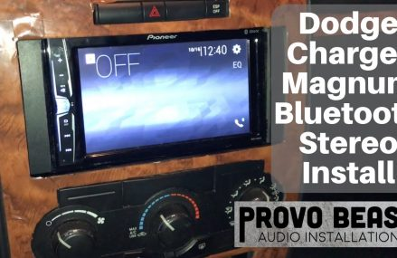 2006 – 2010 Dodge Charger / Magnum / Challenger Stereo Install Local Marshfield 54449 WI