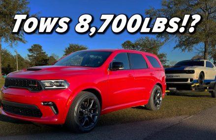 Silly Name Serious Specs   2021 Dodge Durango RT Tow N Go Miami Florida 2018