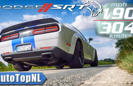 DODGE Challenger HELLCAT | 0-304KMH 0-190MPH | ACCELERATION & TOP SPEED by AutoTopNL For Luling 78648 TX