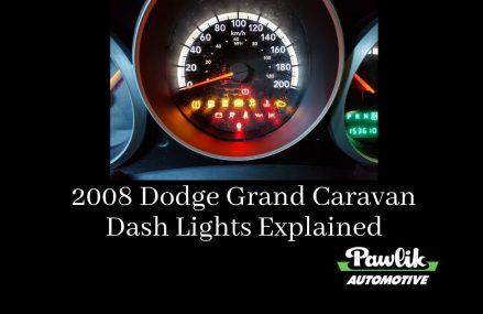 2008 Dodge Grand Caravan – Dash Lights Explained at Middletown 7748 NJ