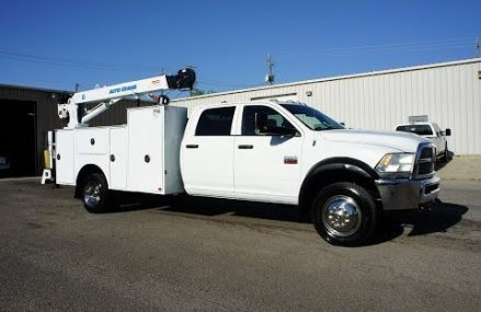 2012 DODGE RAM 5500 MECHANICS TRUCK FOR SALE CRANE UTILITY SERVICE DIESEL Place 92687 Yorba Linda CA