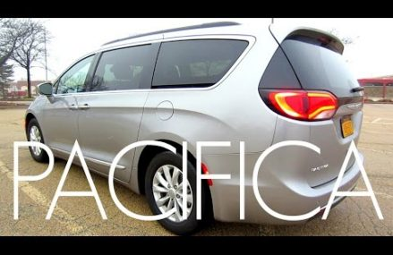 2017 Chrysler Pacifica Minivan | Full Rental Car Review and Test Drive Near Mobile 36602 AL