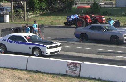 Hellcat vs Drag Pack Challenger – drag racing at Louisville 40222 KY